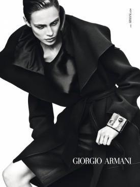 Kampania Giorgio Armani -  jesień 2012