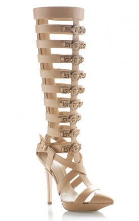 Versace wiosna 2013 - buty i torebki