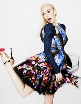 Gwen Stefani w brytyjskim Vogue