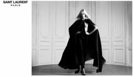 Anja Rubik  w wiosenno-letniej kampanii Saint Laurent