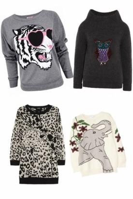 Zwierzęce motywy na ubraniach - propozycje projektantów