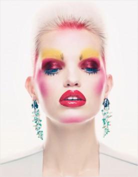 Daphne Groeneveld w brytyjskim Vogue