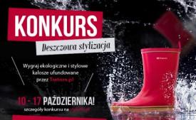 Kalosze na jesienną słotę i konkurs na deszczową stylizację | Zapraszamy !