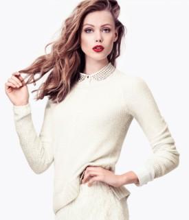 Pastelowa zima w H&M