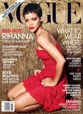 Rihanna w Vogue US