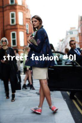 street fashion #01 - ulica inspirowana modą