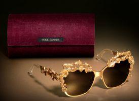 Barokowa kolekcja okularów od Dolce & Gabbana !