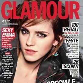 Emma Watson w grudniowym Glamour Italy