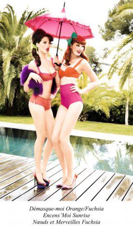 Pin'up girls by Chantal Thomass - kolekcja bielizny na sezon wiosna/lato 2013