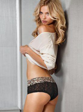 Magdalena Frackowiak dla Victoria's Secret - Lookbook Grudzień 2012