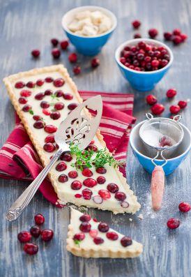 Tarta z żurawiną i białą czekoladą- inspiracja!