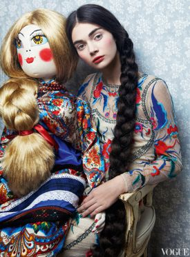 Historia zabawek w VOGUE Russia