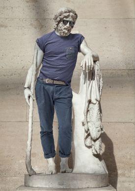 Street Stone, czyli rzeźby modnie ubrane
