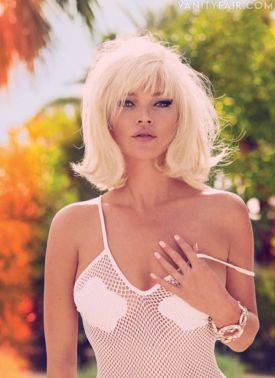 Kate Moss dla Vanity Fair- Grudzień 2012 (+18)