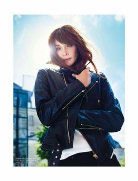 Carla Bruni dla francuskiego magazynu Vogue- Styczeń 2013