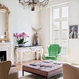 Bogactwo wzorów- urocze wnętrza londyńskiego mieszkania!