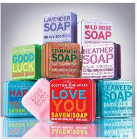 Scottish Fine Soaps - naturalne mydła  z genialnym aromatem!