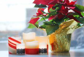 Zrób to sama - urocze świeczki na świątecznym stole!
