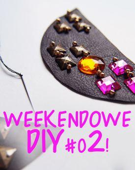 Weekendowe DIY #-02! - karnawałowy kołnierzyk!