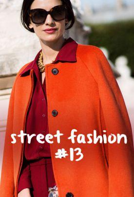 street fashion #13 - ulica inspirowana modą (15 stylizacji)