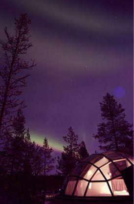 Szklane domy w wersji fińskiej | Może się skusisz na zimową wyprawę?