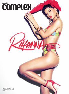 Rihanna w COMPLEX Magazine | 7 okładek na cześć 7go albumu!