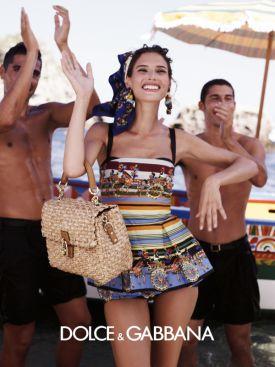 Dolce & Gabbana Summer 2013 collection - piękna Monica Bellucci i jej włoska rodzina!