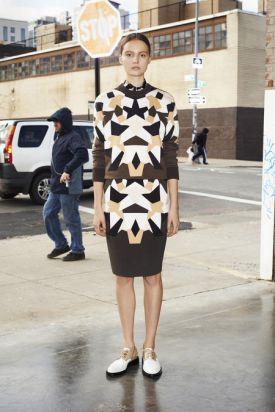 Givenchy Pre-Fall 2013 - elegancka i prosta geometria