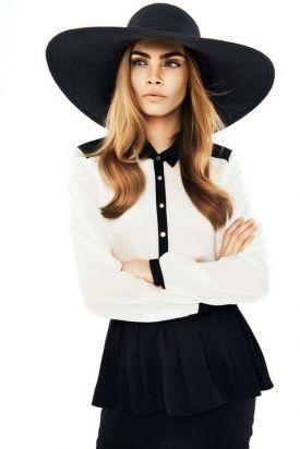 Cara Delevingne w lookbooku Reserved | TOP modelka dla polskiej marki! -  wiosna 2013