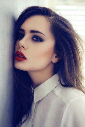 Czerwone usta - idealne na walentynkową randkę! (15 inspiracji)
