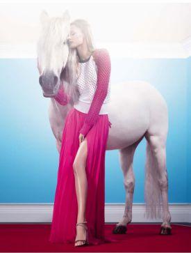 Edita Vilkeviciute w kampanii marki Iceberg | SS 2013