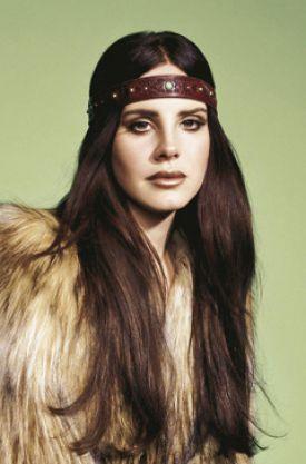 Lana Del Rey jako 70's chic | Madame Figaro styczeń 2013