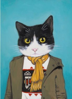 Stylowe kociaki, czyli zabawne ilustracje Heather Mattoon