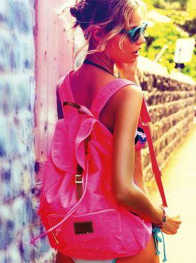 Magdalena Frąckowiak dla VS Pink | Aż pachnie latem!