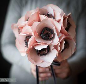 DIY - papierowe kwiaty, które możesz zrobić sama!