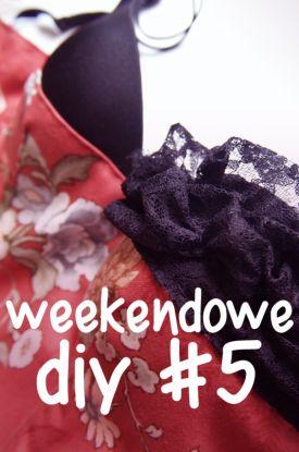 Weekendowe DIY #05! - gorset na cieplejsze dni!