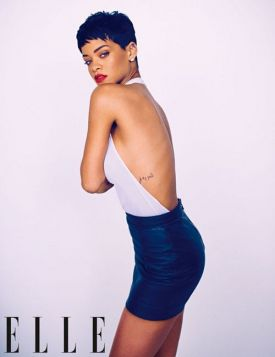 Rihanna na okładce brytyjskiego ELLE (grzeczna dziewczynka?)