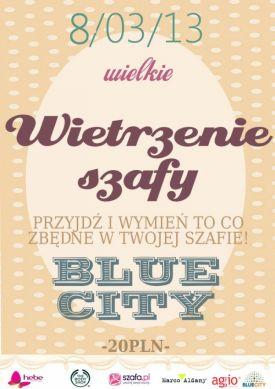 WIETRZENIE SZAFY W BLUE CITY - 8 MARCA, WARSZAWA