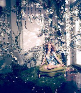 Vanessa Paradis i wiosenna kampania H&M