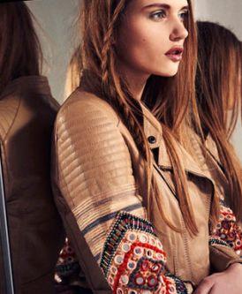 Cream Brulette - Lookbook Bershka | wiosenne ocieplenie