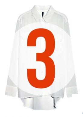 Biała koszula na 3 sposoby!