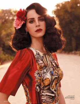 Lana Del Rey dla L'Officiel Paris | kwiecień 2013