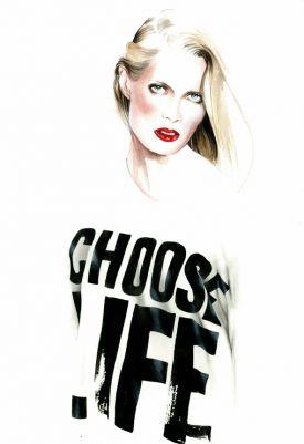 Antonio Soares i jego modne ilustracje | biel i czerń
