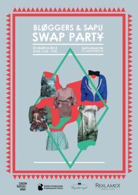 Bloggers & SAPU SWAP – wymień swoją szafę na wiosnę (Halo Kraków!)