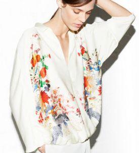 Zara i nowy lookbook | kwiecień 2013