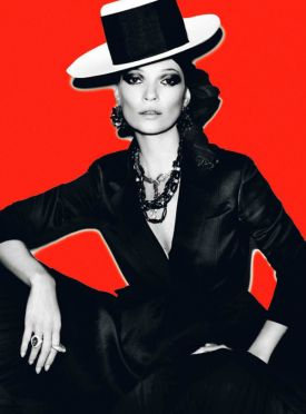 Kate Moss by Mario Testino! | Vogue Paris - kwiecień 2013