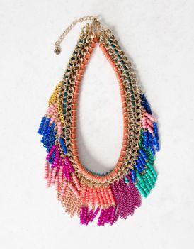Kolorowa biżuteria na wiosnę od Pull&Bear