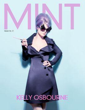 Kelly Osbourne na okładce magazynu MINT