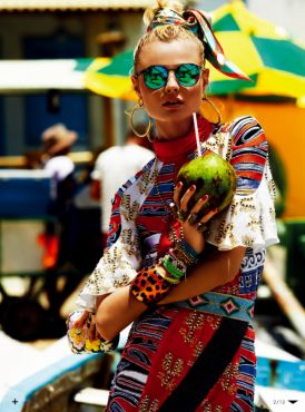 Magdalena Frąckowiak dla Vogue Japan