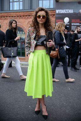 street fashion - Fashion Week Poland - najlepsze stylizacje według ELLE